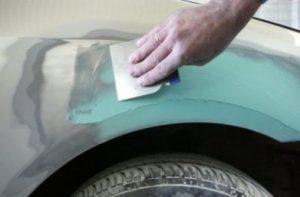 Автомобильная шпатлевка со стекловолокном